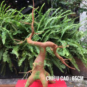Thân cây làm từ kẽm và đất sét. Các nhánh có thể bẻ cong dễ dàng vận chuyển.