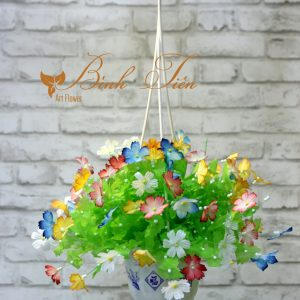xưởng hoa giấy lụa